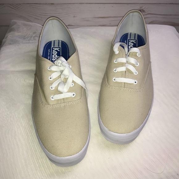 Keds Shoes | Womens Size 12 Tan Canvas